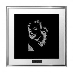 Картина из кристаллов сваровски Мэрилин Монро лицо