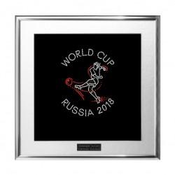Картина из страз сваровски Футболист чемпионат мира Россия 2018