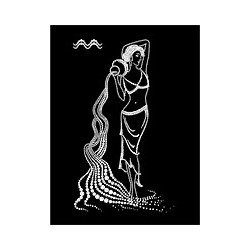 Картина из страз сваровски Знак зодиака Водолей 2 большой