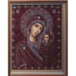 Икона Казанской Божьей Матери средняя репродукция