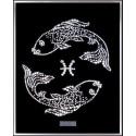 Картина из страз сваровски Знак зодиака Рыбы 2 большой