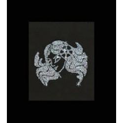 Картина из страз сваровски Знак зодиака Дева малый