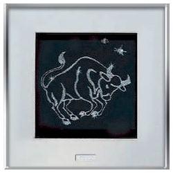 Картина из кристаллов сваровски Знак зодиака Телец средний