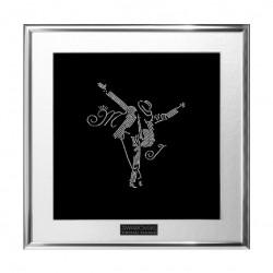 Картина из кристаллов сваровски Майкл Джексон