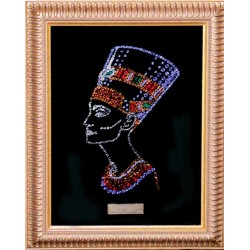 Картина из страз сваровски Нефертити